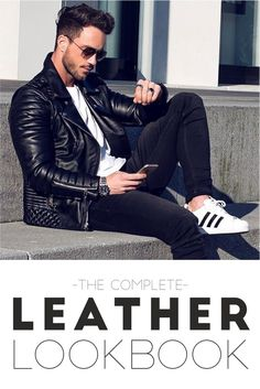 Learn Different Leather Looks which can be tried by You in out LookBook - Men's Fashion Blog #TheUnstitchd
