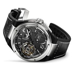 Inspired by motorsport and their relationship with the Mercedes AMG Petronas F1 team, IWC introduces the new Ingenieur collection for 2013. Headlining the collection is the $290,000 Constant-Force Tourbillon.