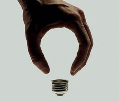 Wired Magazine: How to Spot the Future; photo by Brock Davis    Love the use of negative space to create the lightbulb! Good article as well :)