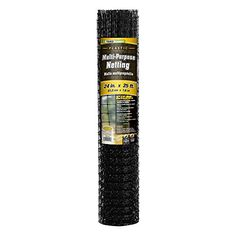 YARDGARD 889522A 125 Inch by 1 Inch Mesh 2 Foot by 25 Foot Black Plastic MultiPurpose Netting Fence >>> See this great product. This is Amazon affiliate link.