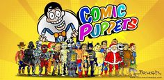 ComicPuppets provides all the toolsto better expressyour creativity.  Ever wanted to make comic strips but you're not a cartoonist?  ComicPuppetsfor iPhone, iPad and Androidprovides all the toolsto better expressyour creativity.