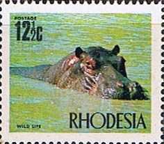Rhodesia 1970 Wild Life SG 446 Fine Mint Scott 286 Other Rhodesian Stamps HERE