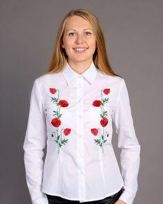 Ukrainian traditional embroidered shirt vyshyvanka by Smerichka