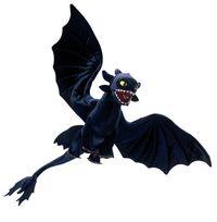 Peluche Dragons Dreamworks 38 cm - PLUSHTOY
