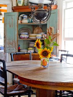 Eclectic Farm House - eclectic - dining room - new york - Rikki Snyder