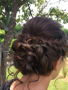 Chignon Hair, Braided Hairstyles Updo, Dress Hairstyles, Wedding Hairstyles, Wedding Hair Up, Bridal Hair Inspiration, Quinceanera Hairstyles, French Twist Hair, Bridesmaid Hair