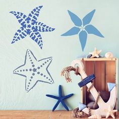 Have some fun with our Big Starfish stencil! A part of our growing nautical decor collection, our Big Starfish stencil was designed to work with other fun sea creature stencils and provide many creative options for your beach decor projects. http://www.cuttingedgestencils.com/starfish-stencil-nautical-stencils-beach-decor.html