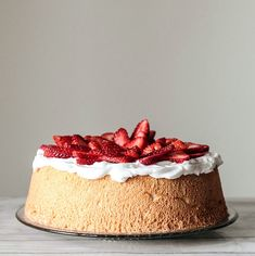 Berry Topped Angel FoodCake | Pastry Affair