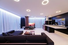 Sleek Romanian Interior By Square One