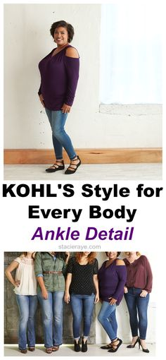 Kohl's Style for Every Body: It's All About the Ankle Detail | Stacie Raye