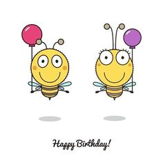 "120 Likes, 5 Comments - Valeria  🏠 Estonia 👧✌ RU (@blackberryjelly) on Instagram: ""Day 11 Мохнатый/ shaggy #TYB_everyday #shaggy #bee #balloons #happybirthday #birthday #drawing…"""