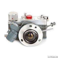 c1969-1971. 35mm film, special use camera. Leningrad model redesigned for the Soviet Space Program.