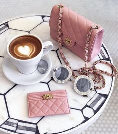 Cream Aesthetic, Aesthetic Coffee, Classy Aesthetic, Coffee Shop Photography, Luxury Lifestyle Women, Studded Purse, Coffee Is Life, Coffee And Books, Cute Bags