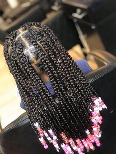 Black Kids Braids Hairstyles, Little Girls Natural Hairstyles, Toddler Braided Hairstyles, Childrens Hairstyles, Lil Girl Hairstyles, Little Girl Braids, Black Girl Braids, Braids For Kids, Braids For Black Hair
