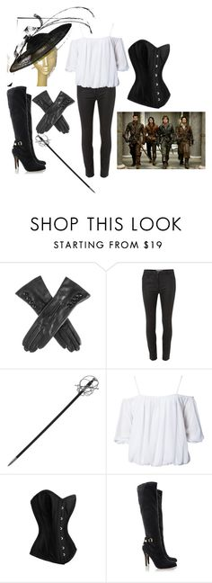 """""""Only female Musketeer..."""" by kellie-500 ❤ liked on Polyvore featuring Mary Portas, Whetstone Cutlery, NLY Trend and Blink"""