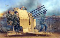 рисунок Расчет немецких зенитчиков