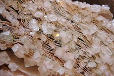 Books, Magazines and Computer Manuals Turned Into Crystallized Sculptures by Alexis Arnold  http://www.thisiscolossal.com/2015/02/crystallized-book-sculptures/