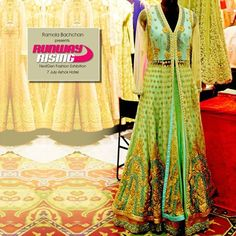 Get a chance to swoon over this gorgeous ethnic collection from designers across the country only at #RunwayRising #Exhibition at #AshokHotel #Delhi