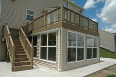 Composite Deck and 4 Seasons Room Pictures and Photos