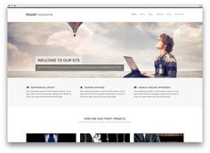 klassik framework - advanced business theme FREE
