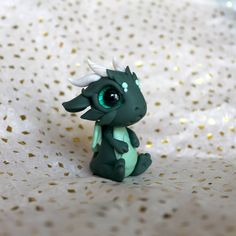 All of our figures are handmade from premium polymer clay and are one of a kind. They are pretty durable but should be handled with care and are not intended for small children.  Thanks so much for stopping by :3