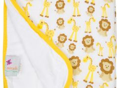 Miracle Baby Muslin Serenity Blanket - Giraffes and Lions Miracle Blanket, Better Than Yours, Baby Sleep, Lions, Giraffes, Colors, Lion, Colour, Color