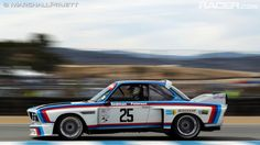 1975 #BMW 3.0 CSL Coupe at the Monterey Motorsport Reunion