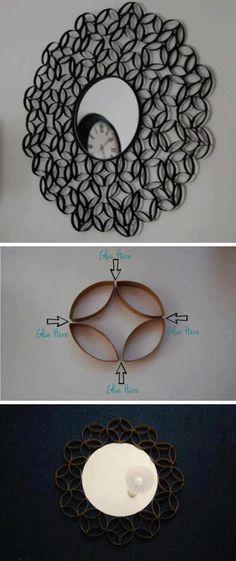 marco rollos de papel
