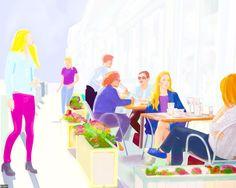 nerosunero the new coffee shop dec. 2015...