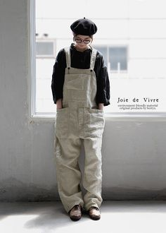 Joie de Vivre チノクロスリネンボールバイオウォッシュオーバーオール:BerryStyleベリースタイル Pretty Outfits, Fall Outfits, Casual Outfits, Love Fashion, Girl Fashion, Womens Fashion, Fashion Design, Hijab Fashion, Fashion Outfits