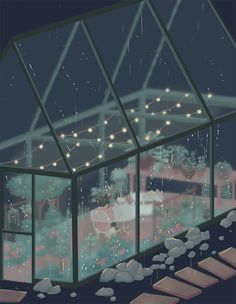 Animated gif shared by randomfragments. Find images and videos about gif, art and aesthetic on We Heart It - the app to get lost in what you love. Aesthetic Gif, Aesthetic Wallpapers, Pretty Art, Cute Art, Arte 8 Bits, Foto Gif, Illustration Art, Illustrations, Rainy Night