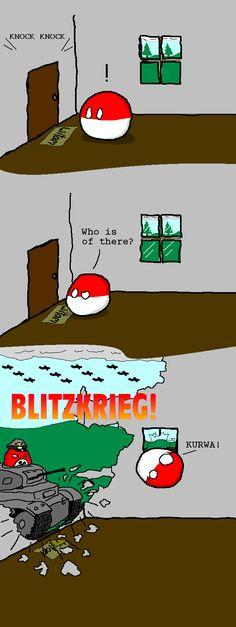 Countryall Polandball can't catch a break Tumblr Funny, Funny Memes, Jokes, Funny Tweets, Satire, Funny Pins, Funny Stuff, Stupid Stuff, History Memes