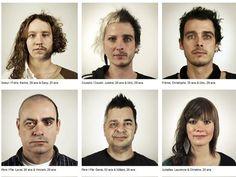 Montagem com fotos de parentes mostra que genética é incrível