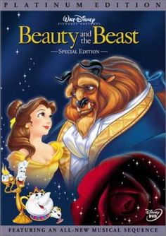 Beauty and The Beast DVD: DVDs & Blu-ray. Beauty and the Beast (Book Beauty and the Beast (Platinum Edition). beauty and the beast dvd Disney Films, Disney Dvd, Disney Posters, Disney List, Disney Belle, Disney Songs, Disney Villains, Movie Posters, Disney Characters
