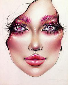 "3,634 Likes, 19 Comments - Sergey X (@milk1422) on Instagram: ""#artist@milk1412 #mylove #myart #myartistcommunity #myartistcommunityrussia #makeup #makeupart…"""