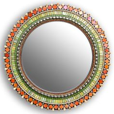 (10) OpenSky Exclusive: 19in Sunflower Mirror from Zetamari Mosaics