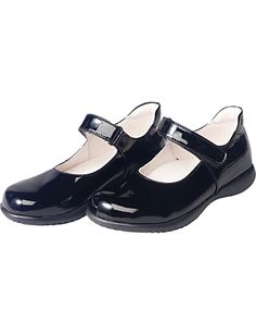 Hanna Andersson black patent Mary Jane's  $68