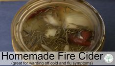 """A spicy hot, deliciously sweet vinegar tonic., fire cider is a great way to """"let your food be your medicine"""" and ward off cold and flu symptoms."""
