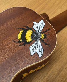 Hand-decorated Ukuleles, uniquely designed with Posca pens, and made to order, making each instrument a complete one-off, which will set your Ukulele apart from the rest and make it that much more special for you or a loved one. This listing is for a Soprano ukulele, and I typically