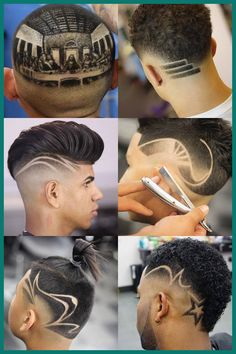 Cool haircut designs for men offer a fun way to create a unique style. And because there are so many skilled barbers around the world, awesome new hair designs Haircut Designs For Men, Hair Designs For Boys, Cool Hair Designs, Cool Haircuts, Haircuts For Men, Hair Tattoo Designs, Gents Hair Style, Shaved Hair Designs, Faded Hair