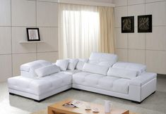 Remarkable White Leather Sectional Sofas On Furniture Sexy White Leather Sectional Sofas