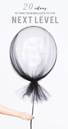 Simple ways to take your party balloon to the next level! www.stylemepretty...
