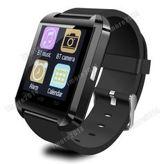 Black U8 Smart Watch Bluetooth Phone Mate For IOS Android HTC Iphone Samsung #Padgene