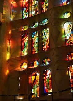 Stained Glass - Sagrada Familia