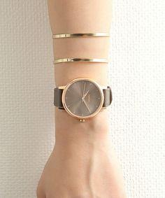 NIXON-WATCH(ニクソンウォッチ)のTHE KENSINGTON LEATHER (腕時計)|その他8 Minimalist Chic, Stunning Photography, Fasion, Jewelry Watches, Jewelry Accessories, Fashion Jewelry, Clock, Rose Gold, Accessories