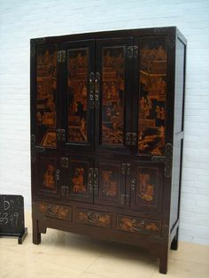 Antique Furniture | Chinese Antique Furniture-Cabinet (B6309) - China Furniture,Cabinets