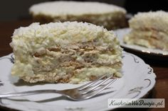 174-tort-rafaello-na-herbatnikach-z-adwokatem-kuchniawedwoje-pl Krispie Treats, Rice Krispies, Dessert Spoons, Mince Meat, Meals, Cake, Sweet, Candy, Meal