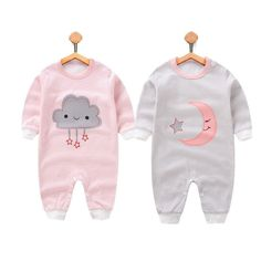 Baby girls clothes Winter cotton Newborn romper 2018 new Baby girls boys Clothing Infant Jumpsuits 0-12M baby clothes set //Price: $18.39 // #kids