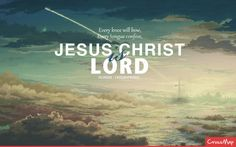 Jesus Christ is the LORD | Christian Rendering | Crossmap Christian Backgrounds and Christian Wallpaper