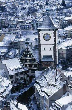 Schwabentor, Freiburg im Breisgau, Turmuhr